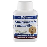MedPharma Multivitamin s minerály 30 složek - 107 tbl. - Multivitamín