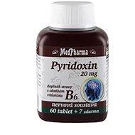 Pyridoxin (vitamin B6) 20 mg -  67 tbl. - Vitamín B6
