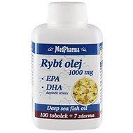 MedPharma Rybí olej 1000 mg - EPA + DHA - 107 tob. - Omega 3
