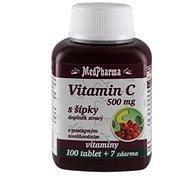 MedPharma Vitamin C 500 mg s šípky, prodl. účinek - 107 tbl. - Vitamín C