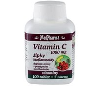 Vitamin C 1000mg with Rose Hips with Slow Release - 107 Tablets - Vitamin C