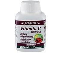 MedPharma Vitamin C 1000 mg s šípky,prodl. účinek - 107 tbl. - Vitamín C