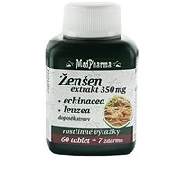 MedPharma Žen-šen + Echinacea + Leuzea - 67 tbl. - Doplněk stravy