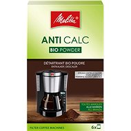Melitta ANTI CALC Práškový bio-odvápňovač pro překapávače (6x20g) - Odvápňovač