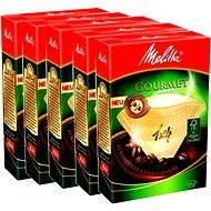 Melitta filtry 1x4/80 Gourmet, balení 3+2 zdarma - Filtr na kávu