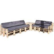 Moduleta Rohová sedačka se stolíkem - Zahradní lavice