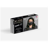 Mesaverde jednorázová obličejová maska 10ks - černá