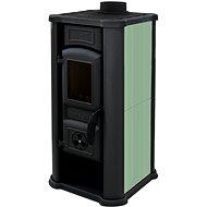 Tim Sistem DIANA ECO zelená - Krbová kamna