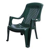 MEGAPLAST CLUB plast, tm. Zelená - Zahradní židle