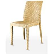 MEGAPLAST DALIA polyratan, AL nohy, okr - Zahradní židle