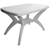 MEGAPLAST CENTO 120x75x73cm, White - Garden Table