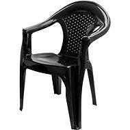 MEGAPLAST Gardenia, antracit - Zahradní židle