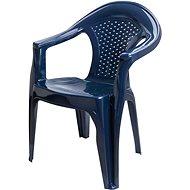 MEGAPLAST Gardenia, tm.modrá - Zahradní židle