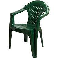 MEGAPLAST Gardenia, zelená - Zahradní židle