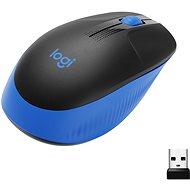 Logitech Wireless Mouse M190, Blue - Myš