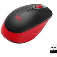 Logitech Wireless Mouse M190, Red - Myš