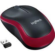 Logitech Wireless Mouse M185 červená - Myš