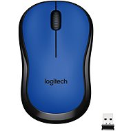 Logitech Wireless Mouse M220 Silent, modrá