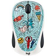 Logitech Doodle BAE-BEE Blue - Myš