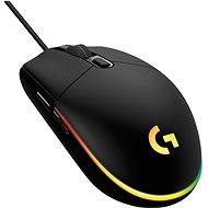 Logitech G203 Lightsync, black - Herní myš