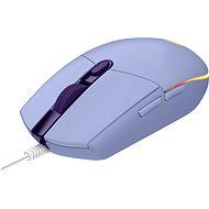 Logitech G203 LIGHTSYNC, Lilac - Herní myš