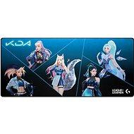 Podložka pod myš Logitech G840 XL Gaming Mousepad K/DA edice