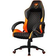 Cougar Fusion  black/orange židle
