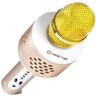 Technaxx 4611 PRO karaoke BT-X35 zlatý - Ruční mikrofon