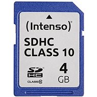 Intenso SD Card Class 10 4GB - Paměťová karta