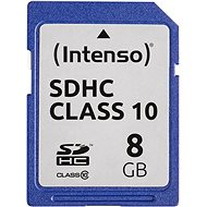 Intenso SD Card Class 10 8GB - Paměťová karta