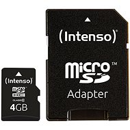 Intenso Micro SD Card Class 10 4GB - Paměťová karta