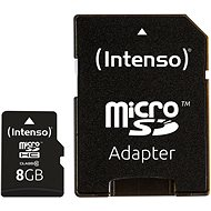 Intenso Micro SD Card Class 10 8GB - Paměťová karta