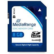 MEDIARANGE SDHC 8GB Class 10 - Paměťová karta