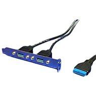 OEM USB 3.0 Bracket se 2 konektory ze základní desky - Záslepka