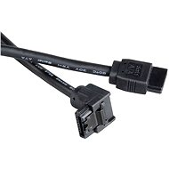 AKASA SATA černý 0.5m - Datový kabel