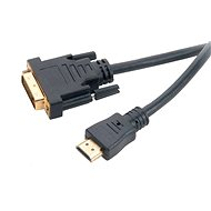 AKASA DVI-D na HDMI 2m - Video kabel