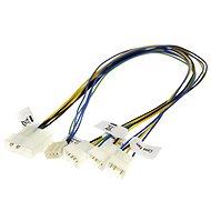 AKASA pro synchronizaci 3 ventilátorů - Napájecí redukce