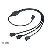 Napájecí kabel AKASA ARGB LED propojovací kabel / AK-CBLD07-50BK