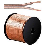 PremiumCord reproduktorový 2x2.50mm, 100m - Audio kabel