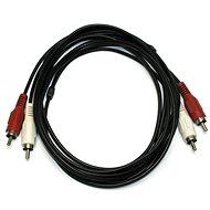 OEM 2x cinch, propojovací, 5m - Audio kabel