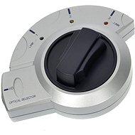 ROLINE přepínač optického audio signálu Toslink s aretací  - Redukce