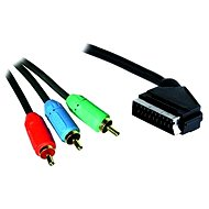 OEM SCART - 3x Cinch RGB propojovací 3m - Video kabel
