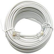 OEM telefonní s konektory RJ11, 15m - Telefonní kabel