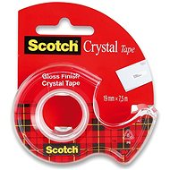 3M Scotch 19 mm x 7.5 m, crystal clear, - Duct Tape