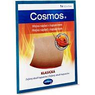 COSMOS hřejivá náplast na oblast zads kapsaicinem 12,5 × 15 cm - Náplast