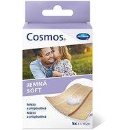 COSMOS jemná a přizpůsobivá náplast s polštářkem 6 × 10 cm 5 ks - Náplast
