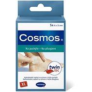COSMOS gelová náplast na puchýře XL 7,5 × 4,5 cm 5 ks - Náplast