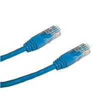 Datacom CAT5E UTP modrý 0.5m - Síťový kabel