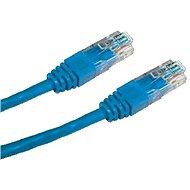 Datacom CAT6, UTP, 0.5m, modrý - Síťový kabel