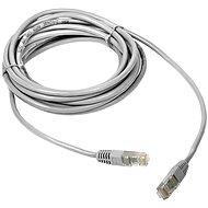 Datacom Patch cord UTP CAT5E 1m bílý - Síťový kabel